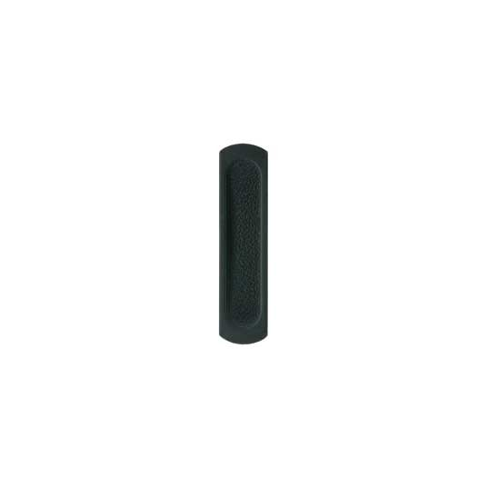 Black-FLUSH DOOR PULL-CABINET HARDWARE-